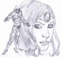 thor's assassin and niojborg by Selkirk