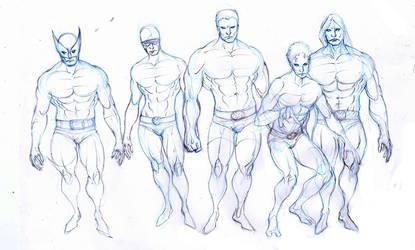 x-men men edition :fear: rough by Selkirk