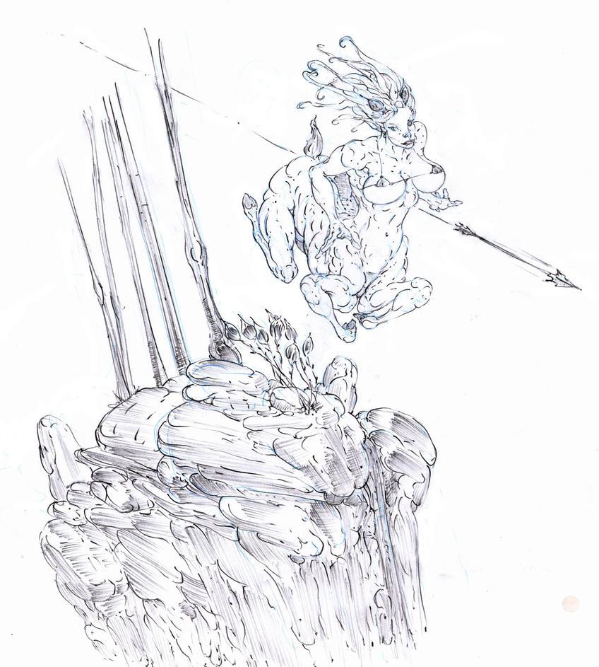 sylvain princess leaps ! :D by Selkirk