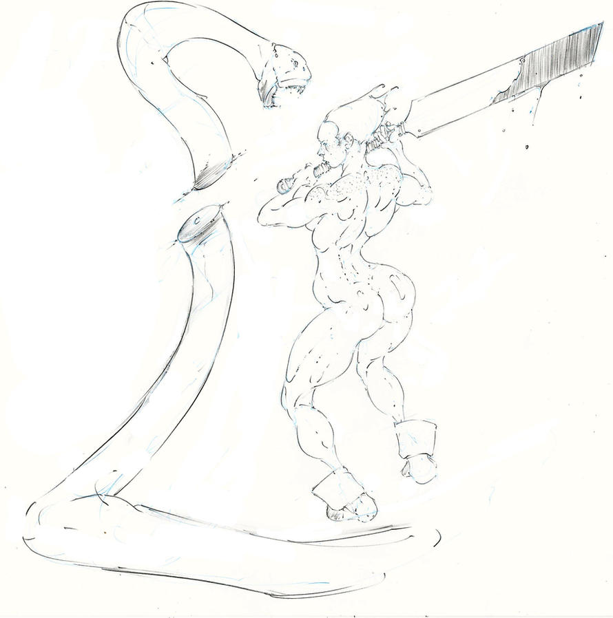 red ... dammit, i hate snakes ! :D by Selkirk