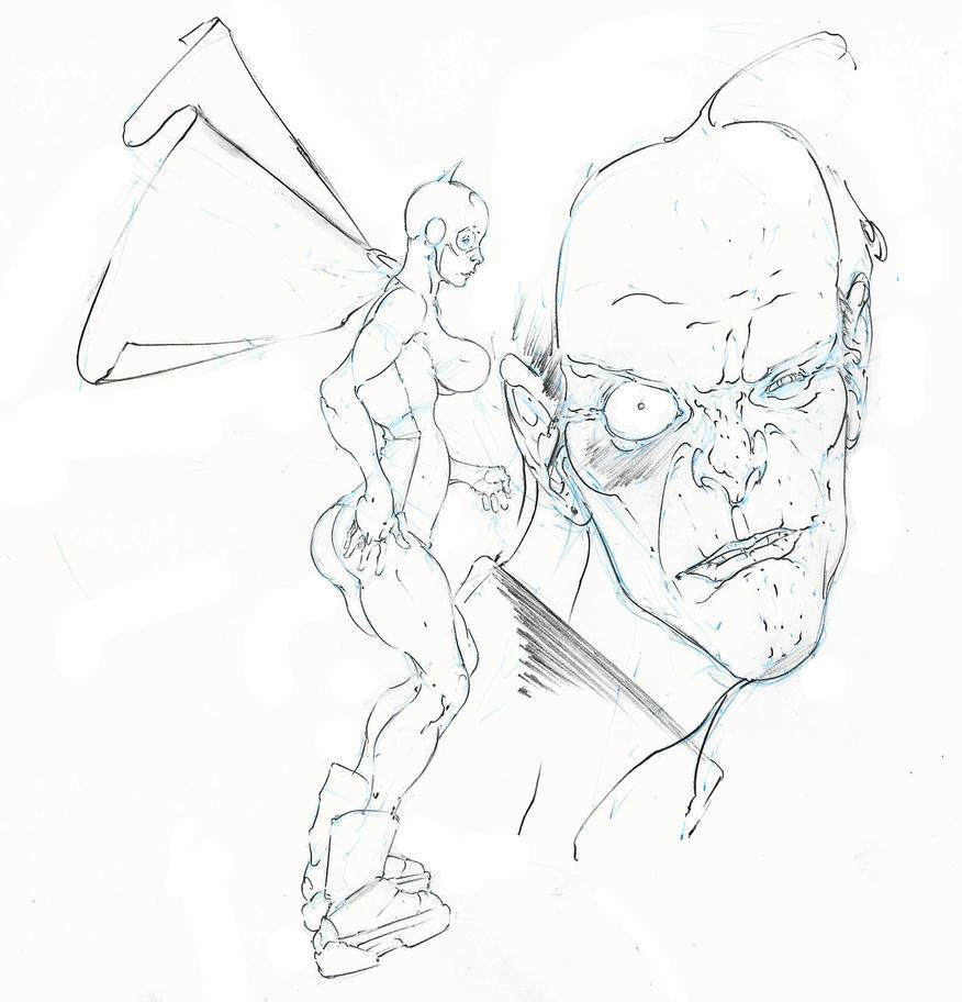 batgirl ... and joker plots escape ! :D by Selkirk