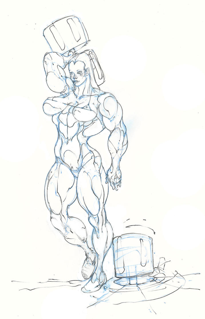 she hulk ... avengers gym ..:D by Selkirk