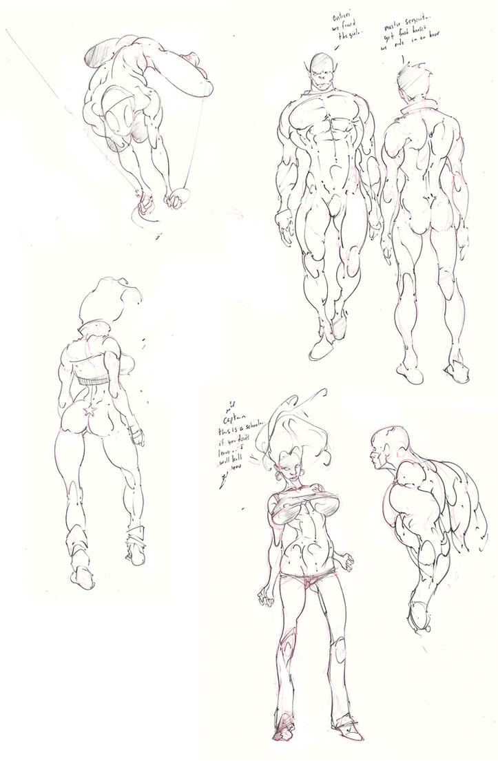 sketch dump .. new lead edition ! :D by Selkirk