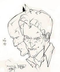 batman and joker .. heads! :D by Selkirk