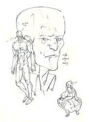 cyclops psylocke professor x ! :D by Selkirk