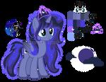 Mlp (NG) Princess Moonshine Bio