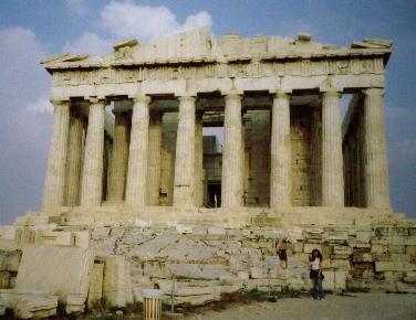 Parthenon by Franita