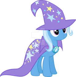 Trixie Vector Without Medallion