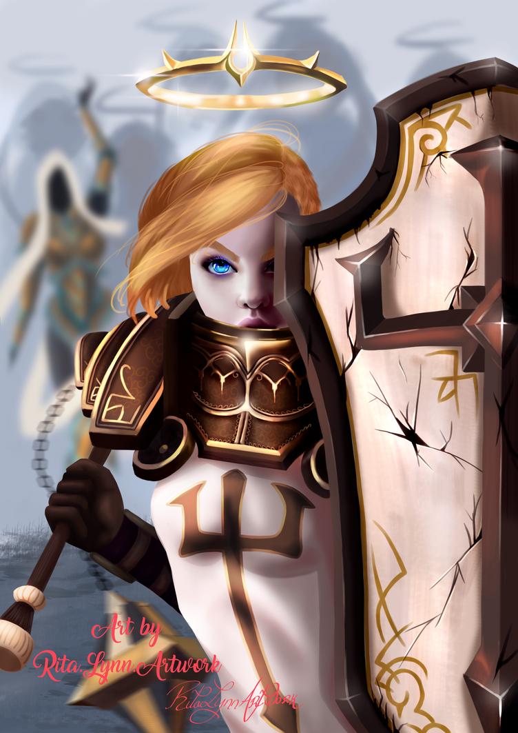 Johanna in the Eternal Conflict by RitaLyn
