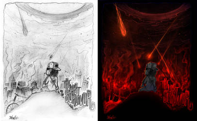 The Last Survivor with sketch by Studiom6