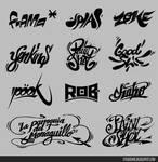 Logo-typs 01 by Studiom6