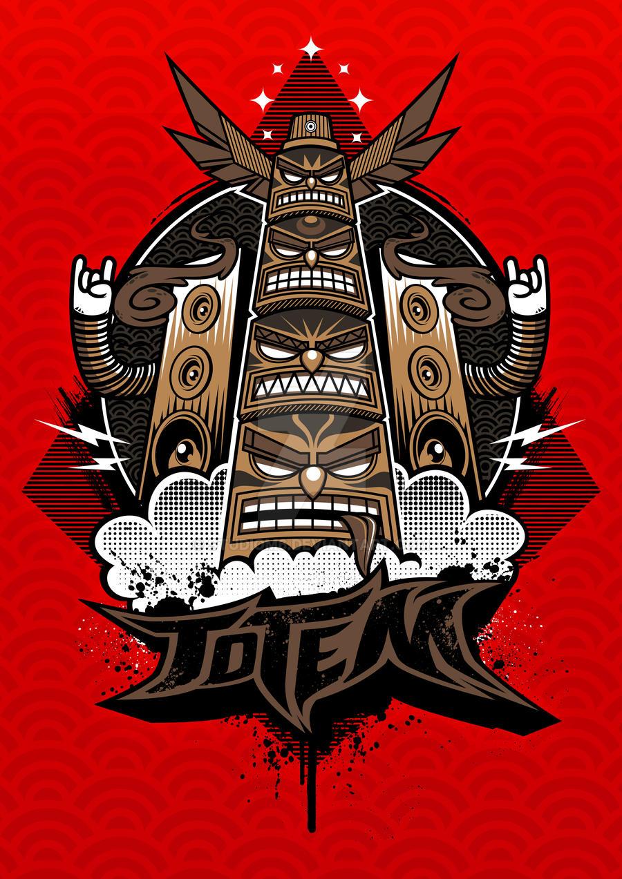 TotemGraff Poster by Studiom6