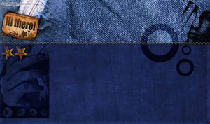 Jeans Twitter Background