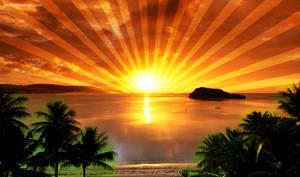Sunrise Twitter Background