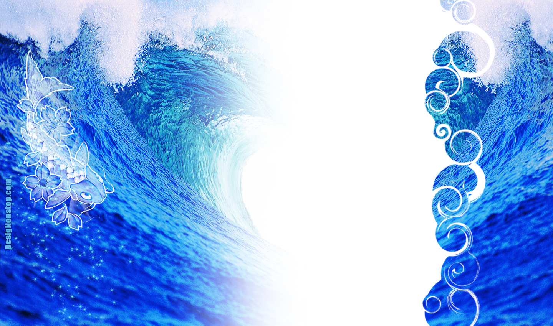 Waves Twitter Background
