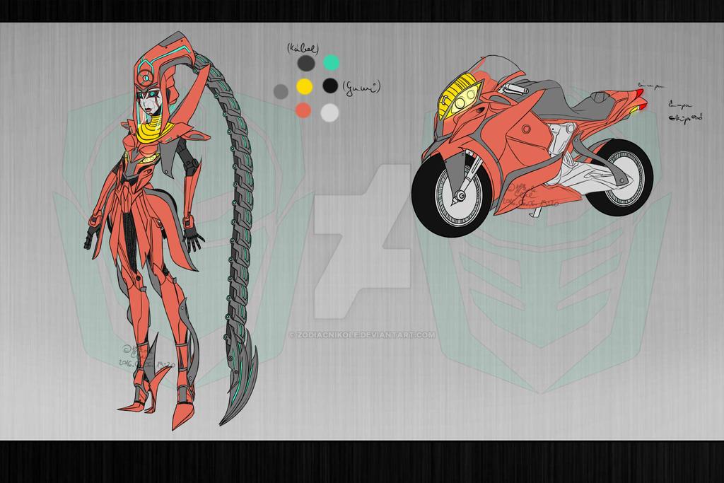 Transformers Fanfiction OC - DarkPain by ZodiacNikole on