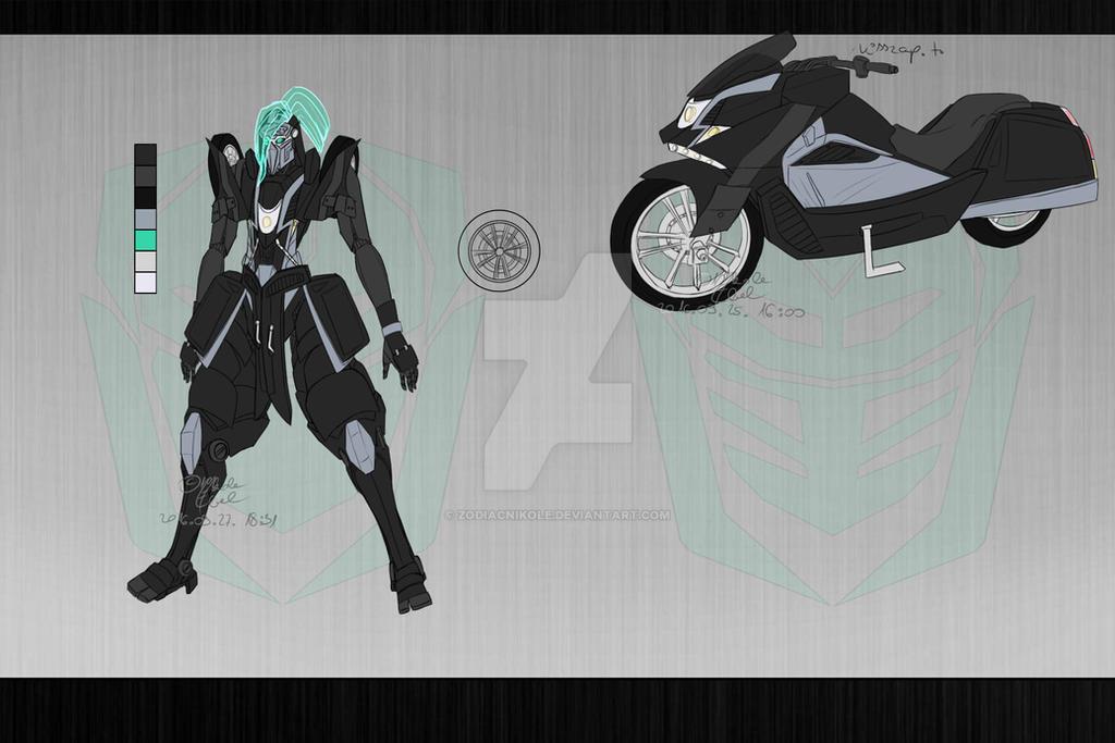 Transformers Fanfiction OC - Shadoway by ZodiacNikole on