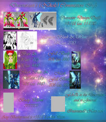 Commission Price List 2016-2017 (From November) by ZodiacNikole