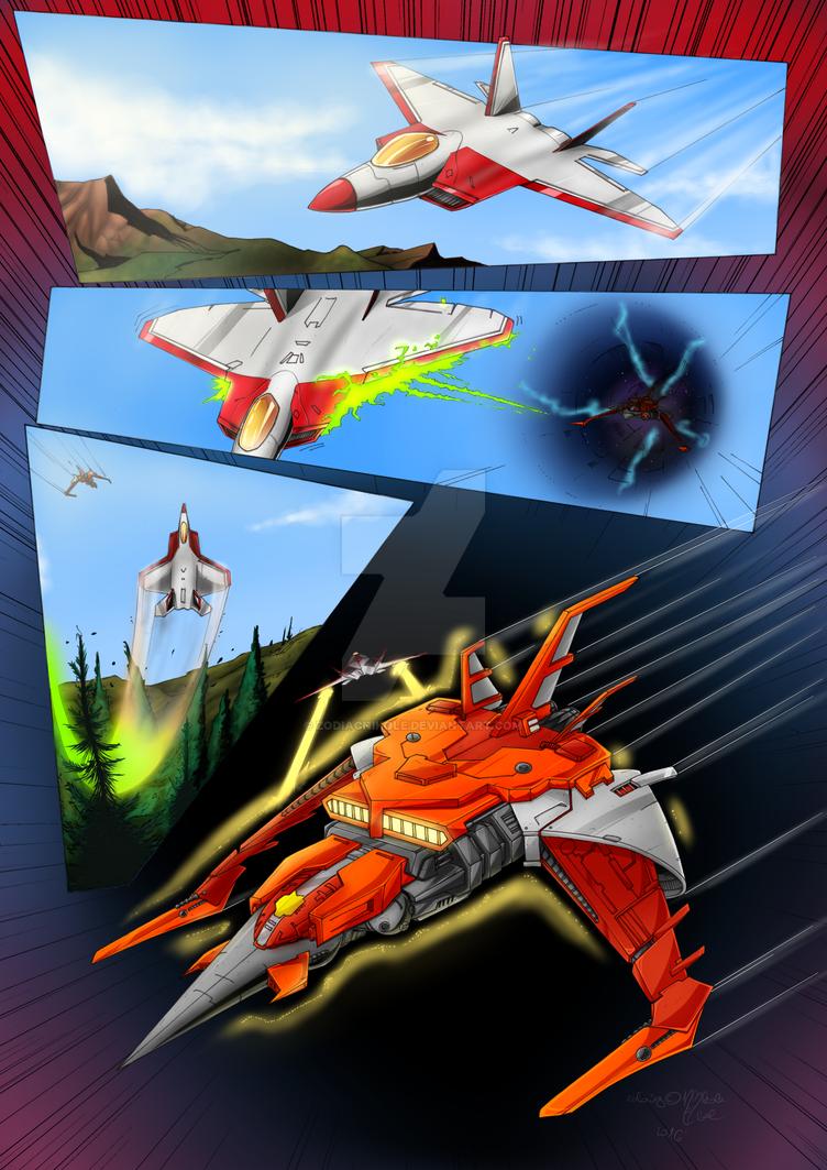 Transformers Differentiation (Fancomic) by ZodiacNikole