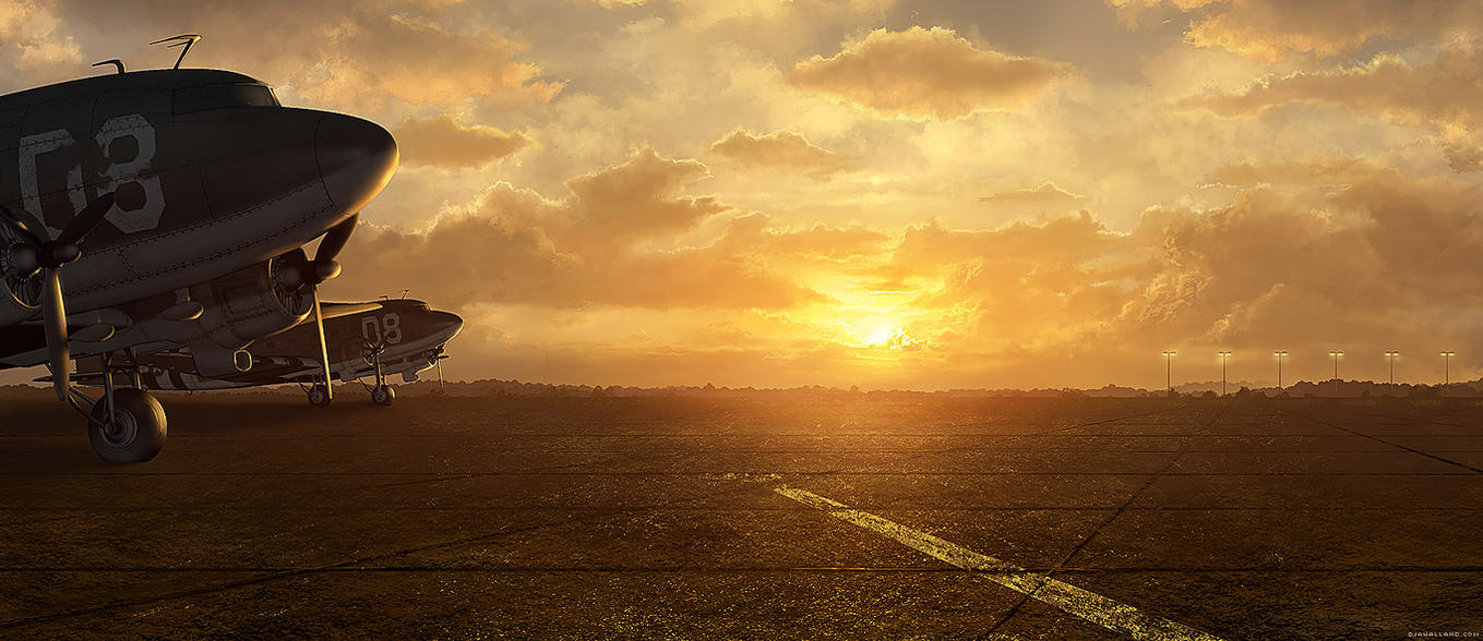R.U.S.E. - Matte painting - 02 by djahal