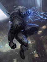 Galaxy Saga (Applibot) | Berserker of destruction by djahal