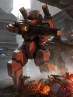 Galaxy Saga (applibot) | Beamgun commander by djahal