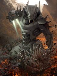 Galaxy Saga (applibot) The demon killer by djahal