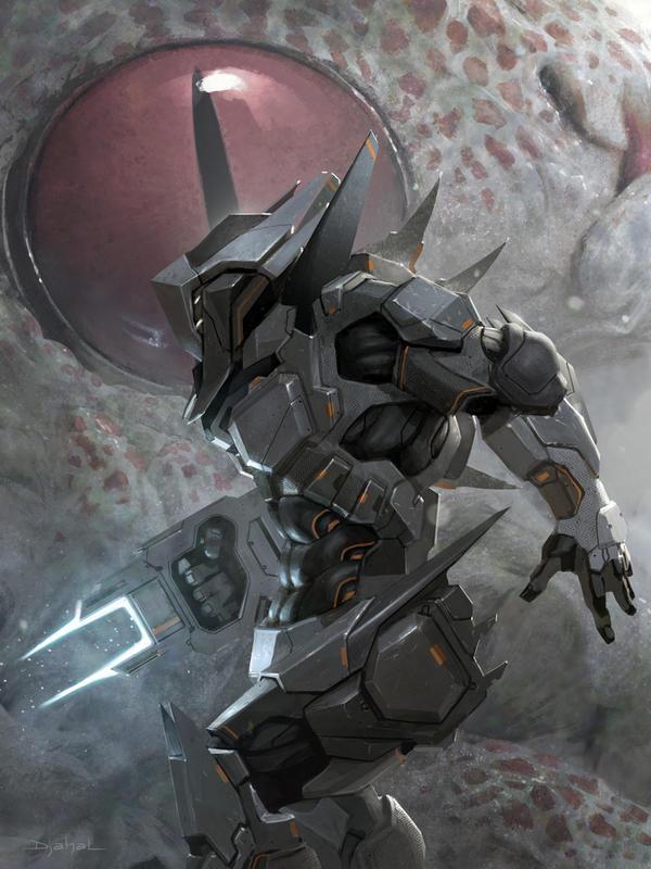 Galaxy Saga (applibot) The demon killer advanced by djahal