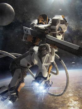 Galaxy Saga (applibot) Orbital sniper advanced by djahal