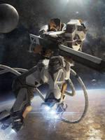 Galaxy Saga (applibot) Orbital sniper advanced