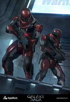 Galaxy Saga (applibot) Galactic empire soldier