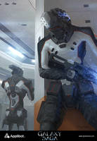 Galaxy Saga (applibot) Thunderbolt 13 advanced by djahal