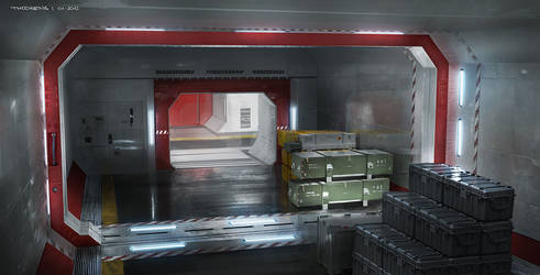Beyond...Two Souls (Quantic Dream)   Storage room by djahal