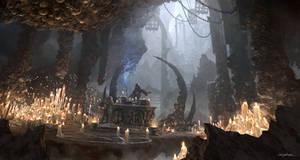 The Dark Sorcerer (Quantic Dream) by djahal