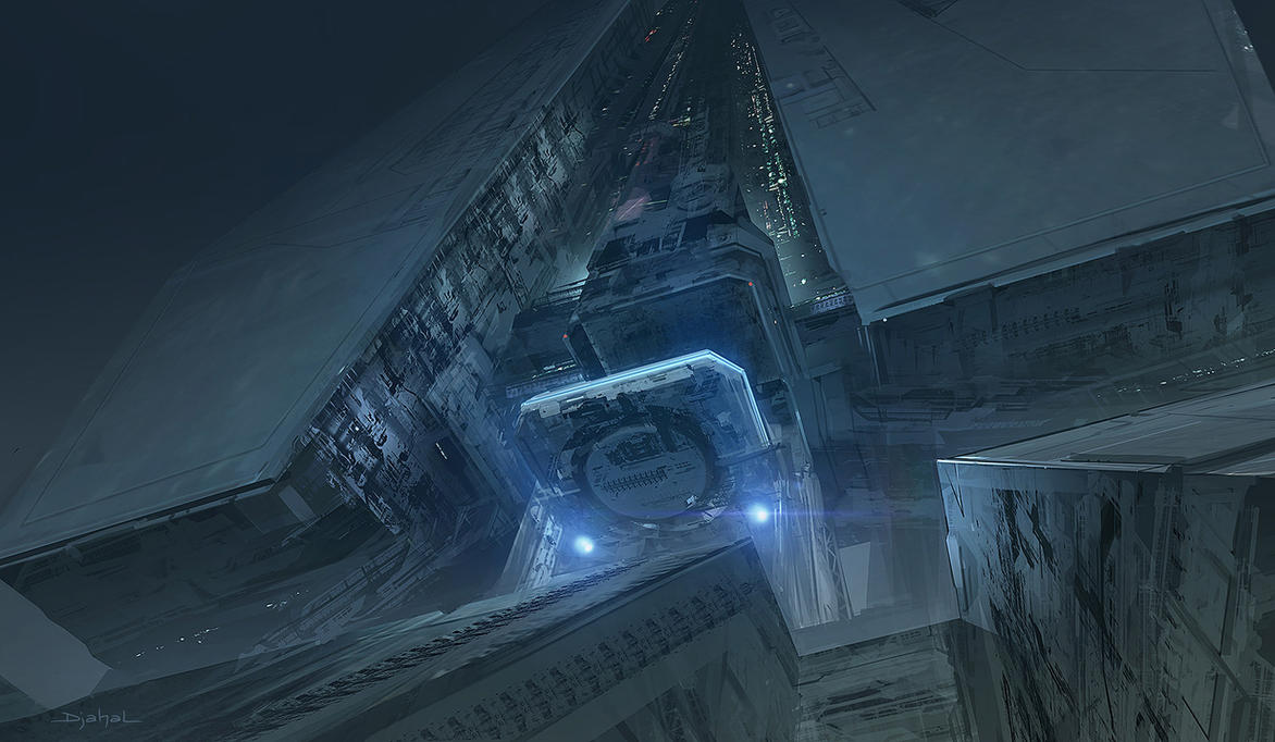 Alien5 Building2 by djahal