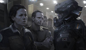 Alien5 Mercenaries