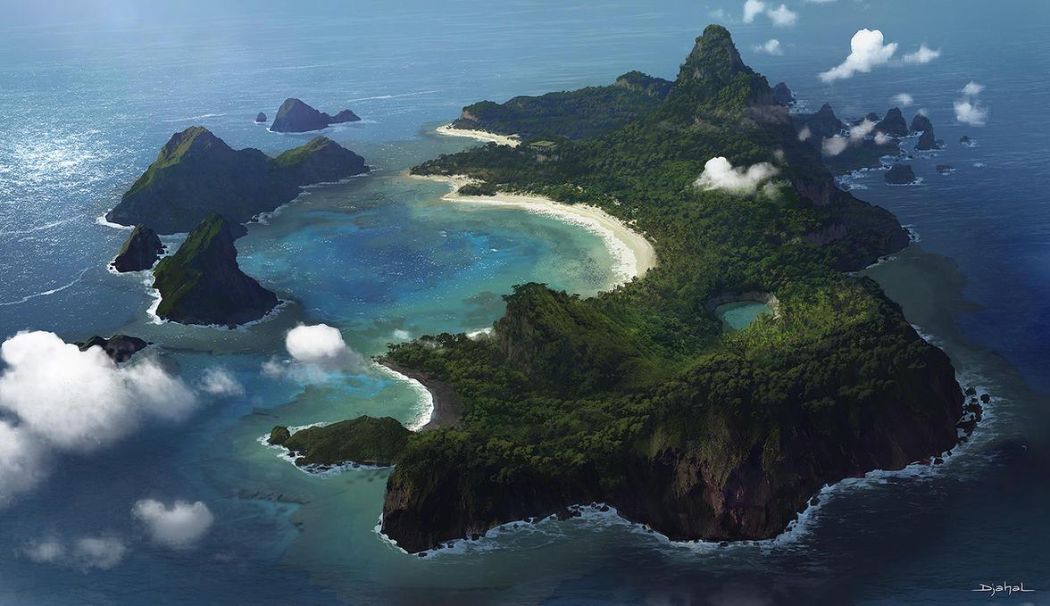 Isle by djahal