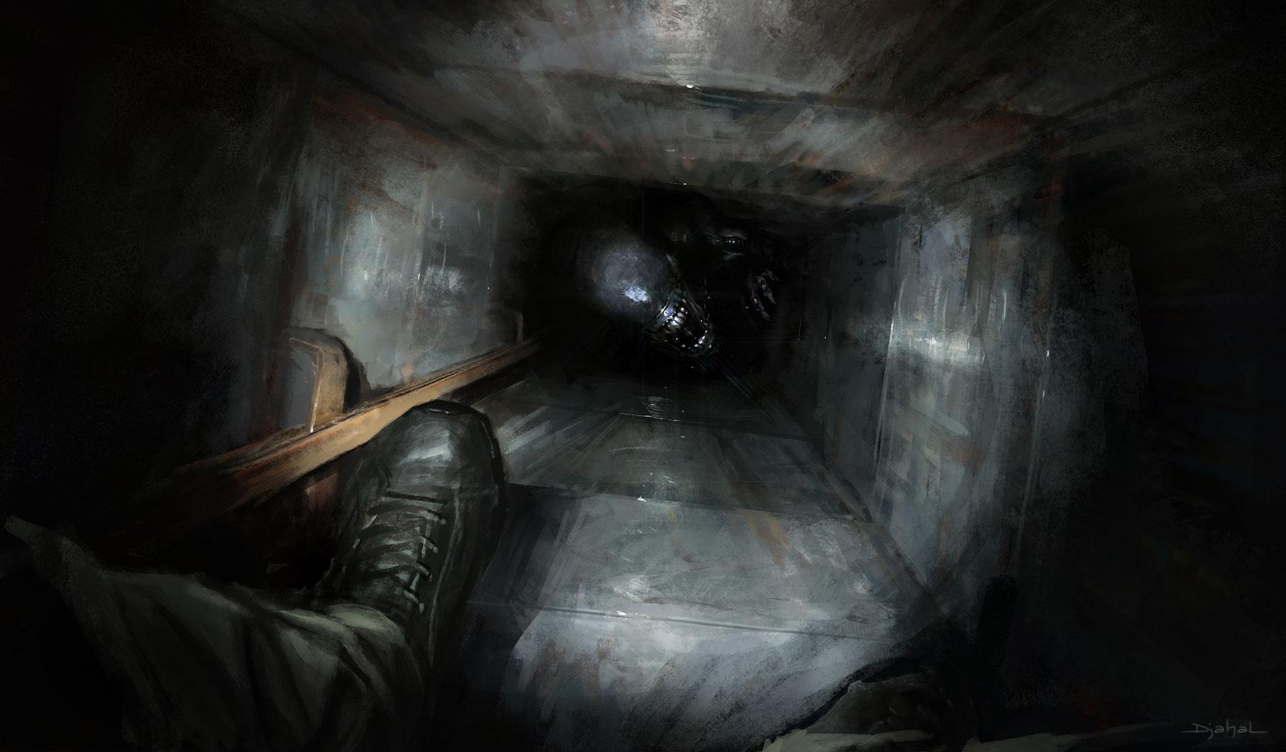 2015 | Concept art | Alien 5 | Neill Blomkamp by djahal