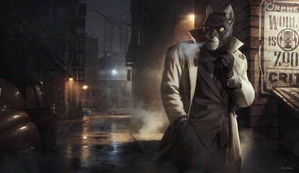 2013 | Illustration | Fan art | Blacksad