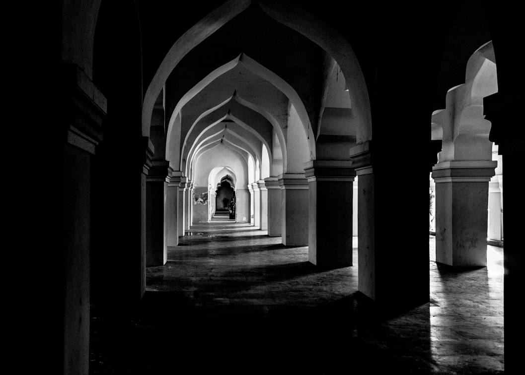 Light at the end of the corridor.. by preethi524
