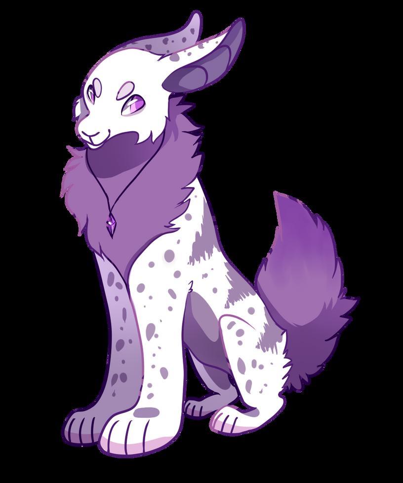 purple gems by tiqeress