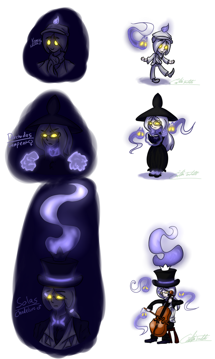 Litwick Lampent Chandelure By K8extreme