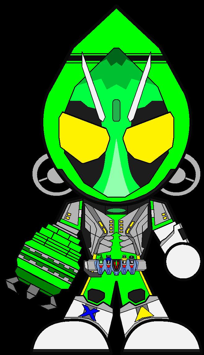 Kamen Rider Fourze Gamma States by demen30000 on DeviantArt