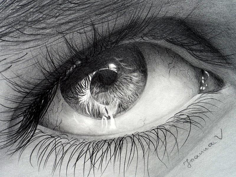 Me, myself and ... eye by Joanna-Vu