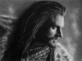 King under the Mountain by Joanna-Vu
