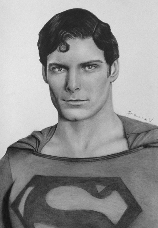 Christopher Reeve by Joanna-Vu