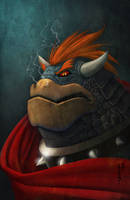 King Bowser by Ninja-Turtles
