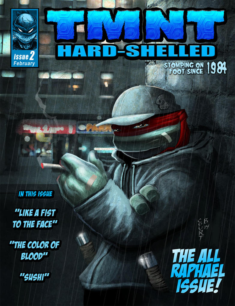 Raph Magazine Cover by Ninja-Turtles