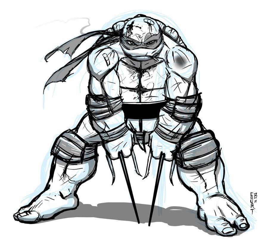 Raph sketch by Ninja-Turtles