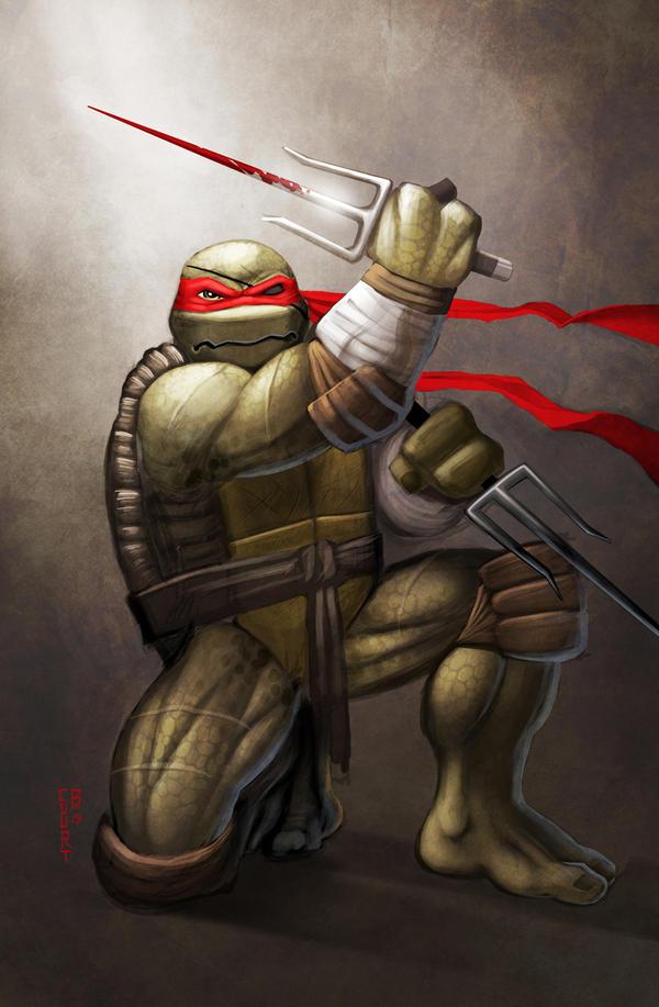 MNT Gaiden Raphael by Ninja-Turtles